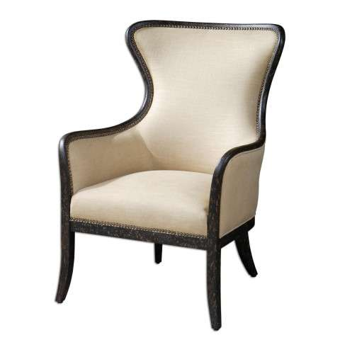Uttermost 23051 Zander - Wing Chair
