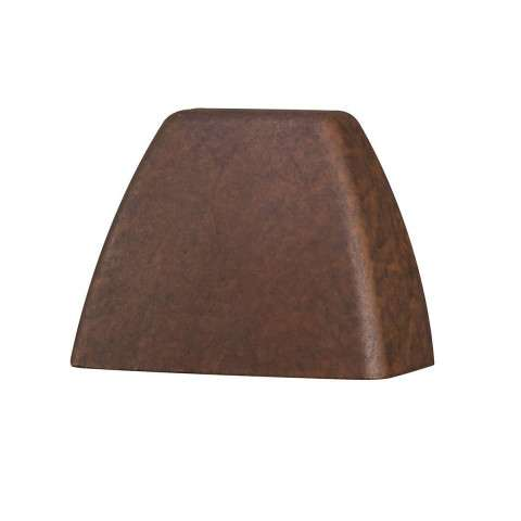 Utilitarian Landscape - LED Deck Light in Textured Tannery Bronze