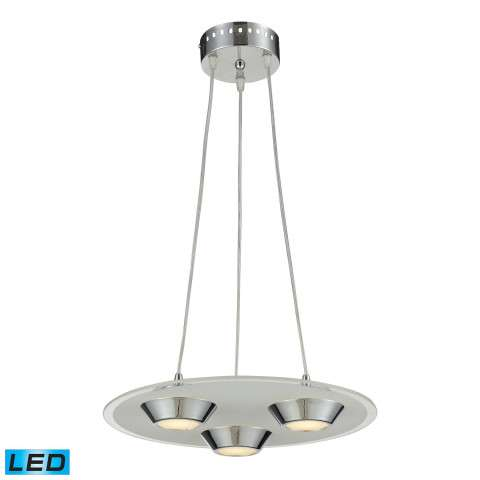 Nulco Lighting 81062/3 Led 3 Light 4W Glass Pendant