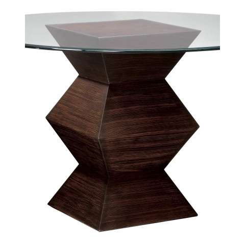Bailey Street 6043240 Hohner Table Base Zebrano