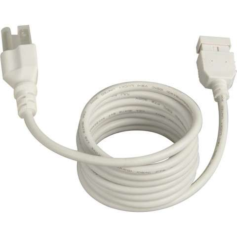 "Maxim 87880WT CounterMax MXInterLink4 72"" Power Cord in White."