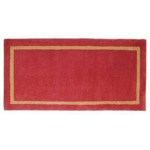 Rectangular Rug Sangria - Red/Brown