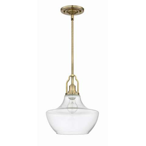 Pendant - 1 Light Mini Pendant - Legacy Brass