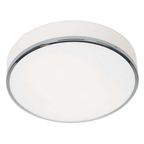 Access Lighting 20671-CH/OPL Aero Flush-Mount in Chrome finish with Opal glass