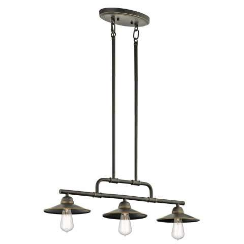 Westington Outdoor Chandelier 3Lt in Olde Bronze