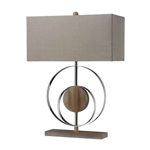 Dimond Lighting D2297 Washed Wood Table Lamp