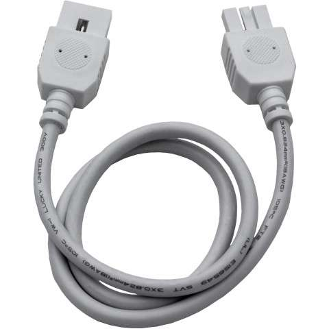 "Maxim 87878WT CounterMax MXInterLink4 24"" Connector Cord in White."