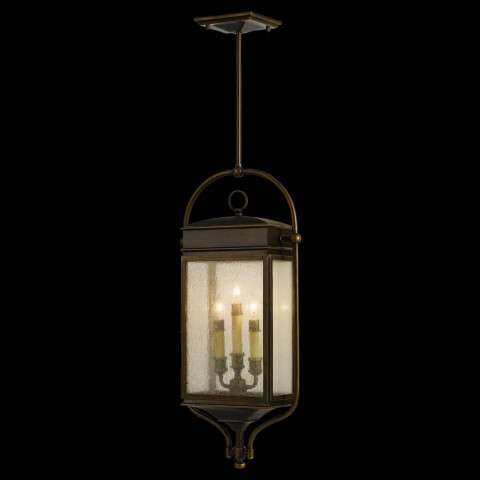 Murray Feiss OL7411ASTB Whitaker Outdoor Lantern - Hanging in Astral Bronze finish