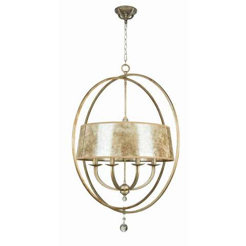Craftmade Exteriors Windsor - Athenian Obol 8 Light Chandelier in Athenian Obol