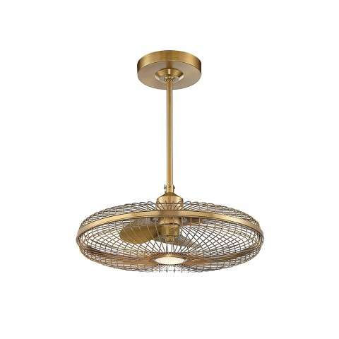 Savoy House 29-FD-122-322 Wetherby Fan Dlier In Warm Brass