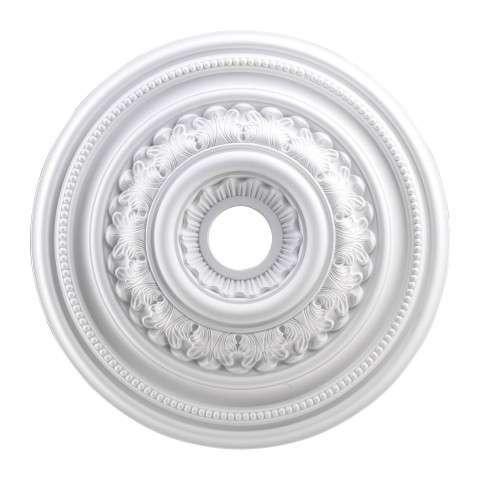 Elk Lighting M1012WH English Study Medallion 24 Inch In White Finish