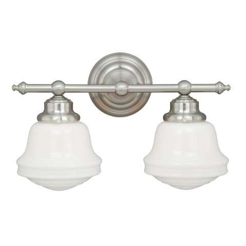 Huntley 2L Vanity Satin Nickel