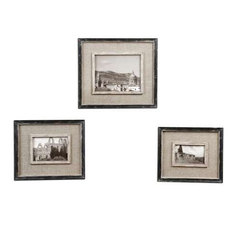 Uttermost 18537 Kalidas - Photo Frames - S/3