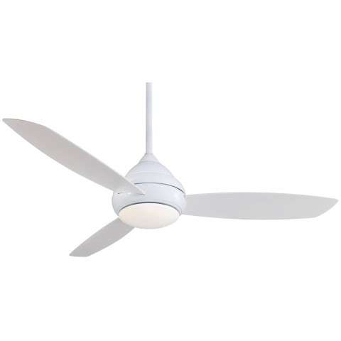F477L-WH Stainless Steel Ceiling Fan