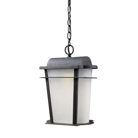 Elk Lighting 43007/1 Hampton Ridge 1-Lt Outdoor Led Sconce In Weathered Charcoal