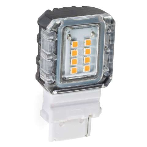 Landscape LED S8 SIDE MOUNT LED 3000K 120 DE in Clear