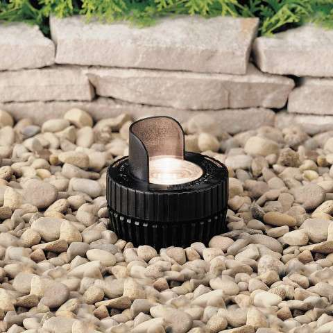 Kichler 15192BK In-Ground 1-Lt 12V in Black Material (Not Painted).