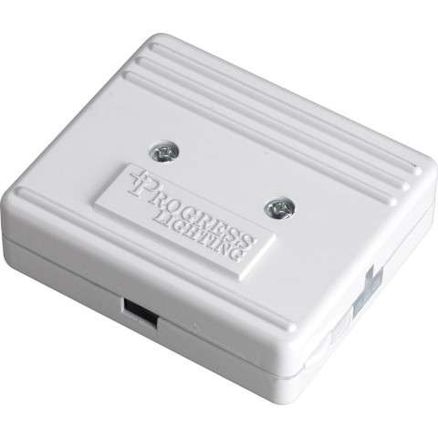 Progress P8740-30 HAL3 junction box in White finish.