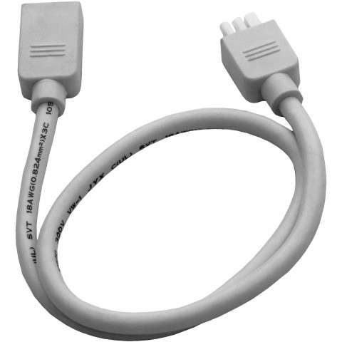"Maxim 87857WT CounterMax MXInterLink3 18"" Inter-link Cord in White."