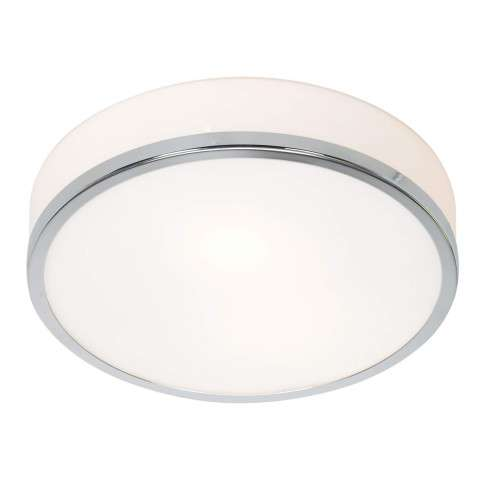 Access Lighting 20670-CH/OPL Aero Flush-Mount in Chrome finish with Opal glass