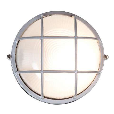 Access Lighting 20294-SAT/FST Nauticus Wet Location Bulkhead in Satin finish with Frosted glass