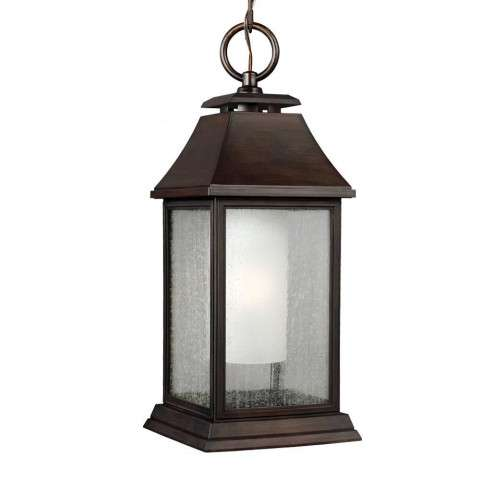 Shepherd 1 - Light Outdoor Pendant in Heritage Copper