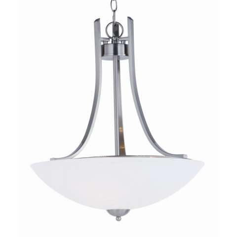 Taylor 3-Light Pendant in Satin Nickel