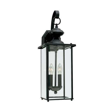 Jamestowne - Two Light Outdoor Wall Lantern in Black