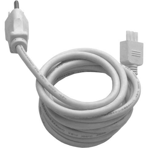 Maxim 87860WT CounterMax MXInterLink3 6´ Power Cord in White.