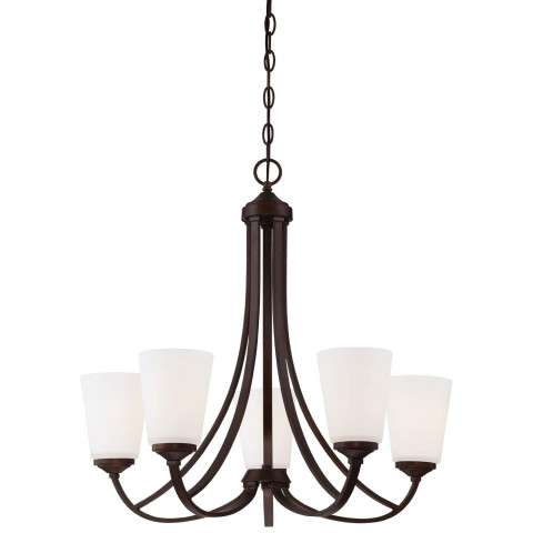 Other Chandelier Fixtures 5 Light Ch In Vintage Bronze
