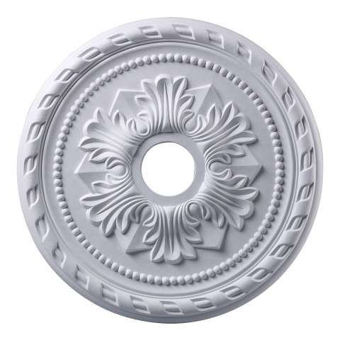 Elk Lighting M1005WH Corinthian Medallion 22 Inch In White Finish