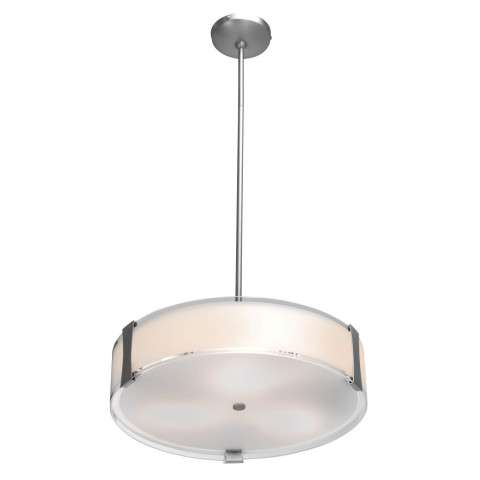 Tara Dimmable LED Semi-Flush or Pendant