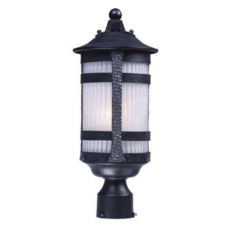 Casa Grande 1-Light Outdoor Post in Anthracite