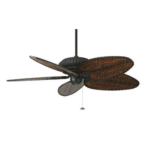 Fanimation Belleria Ceiling Fan Model FP4320TB1-BPD4A in Textured Black
