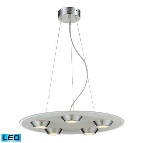 Nulco Lighting 81063/5 Led 5 Light 4W Glass Pendant