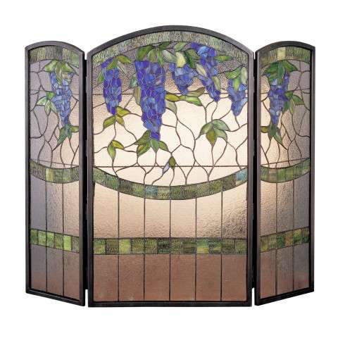 "Tiffany Wisteria - 40"" Wide x 34"" Tall"