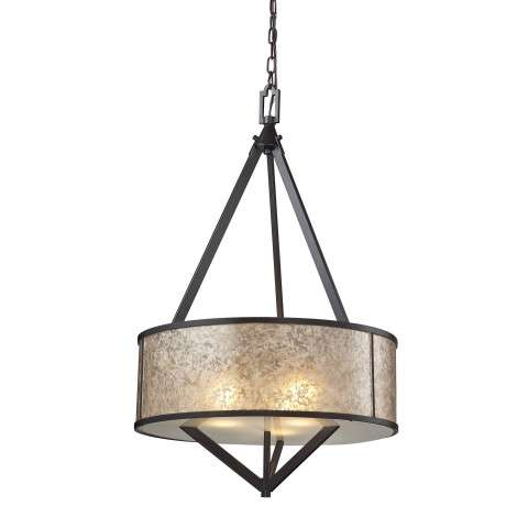 Mica 3 Light Pendant In Oil Rubbed Bronze