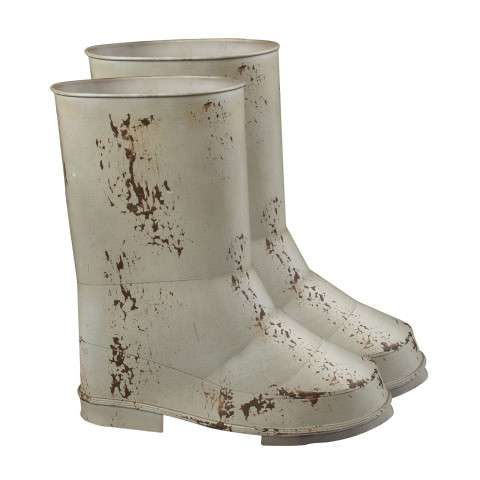 Sterling Furnishings 128-1019/S2 Set Of 2 Boot Planters