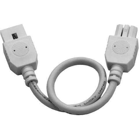 "Maxim 87876WT CounterMax MXInterLink4 9"" Connector Cord in White."
