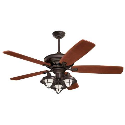 Emerson Carrera Grande Eco 60 (DC Motor) Ceiling Fan Model CF788ORB-B78WA-LK40ORB in Oil Rubbed Bronze