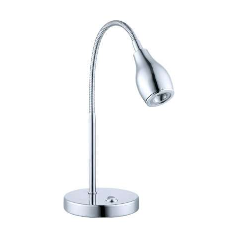 Naira Table Lamp in Chrome