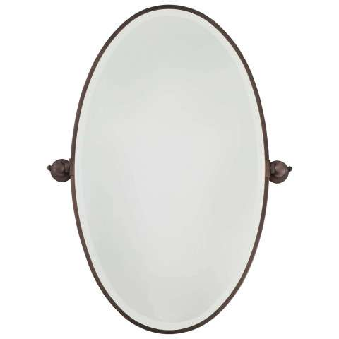 Minka Lavery Lighting 1432-267 Oval Mirror in Undefined finish