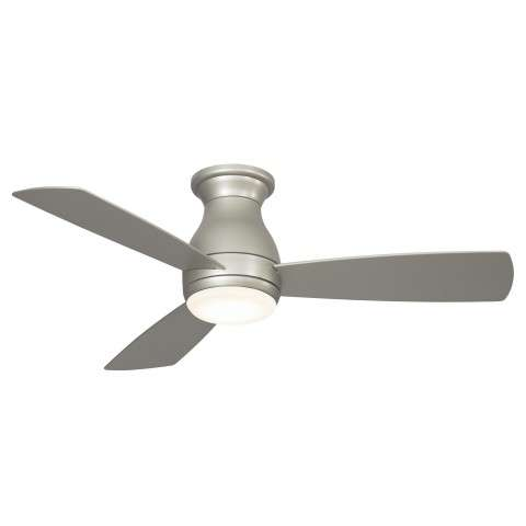 Fanimation Hugh 44 Ceiling Fan Model FPS8332BBNW in Brushed Nickel Wet Rated with Brushed Nickel Color ABS Plastic blades