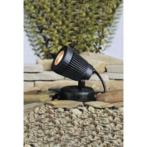 Kichler 15191BK Underwater 1-Lt 12V in Black Material (Not Painted).