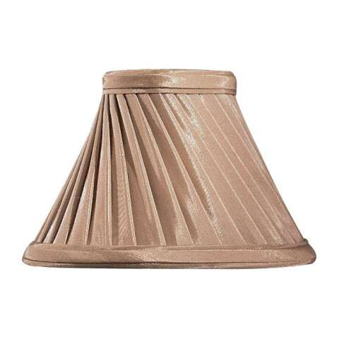 Metropolitan SH1949 Shade in Silkglow Croissant finish with Swirl Shade w/ Self-Trim