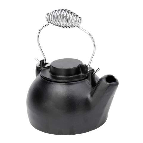 2.5 Quart Cast Iron Humidifying Kettle - Blue Black