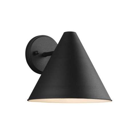 Crittenden - One Light Outdoor Wall Lantern in Black