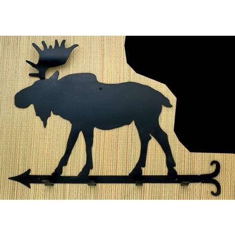 Meyda Tiffany 22779 Moose Coat Rack in Black finish