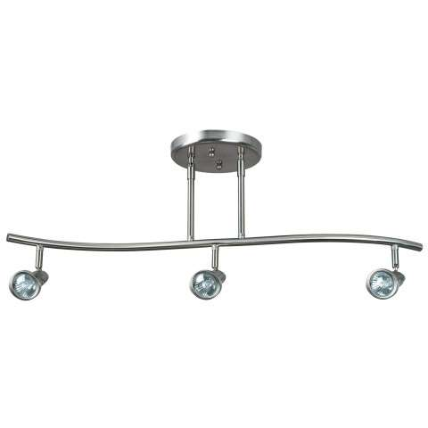 Sunset Lighting F2963-80 3-light 50w GU10 Dual-stem Track Fixture