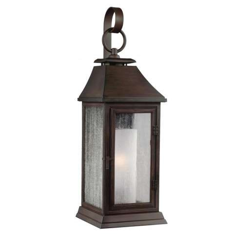 Shepherd 1 - Light Outdoor Sconce in Heritage Copper